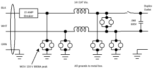 PLDO-120US15A Schematic